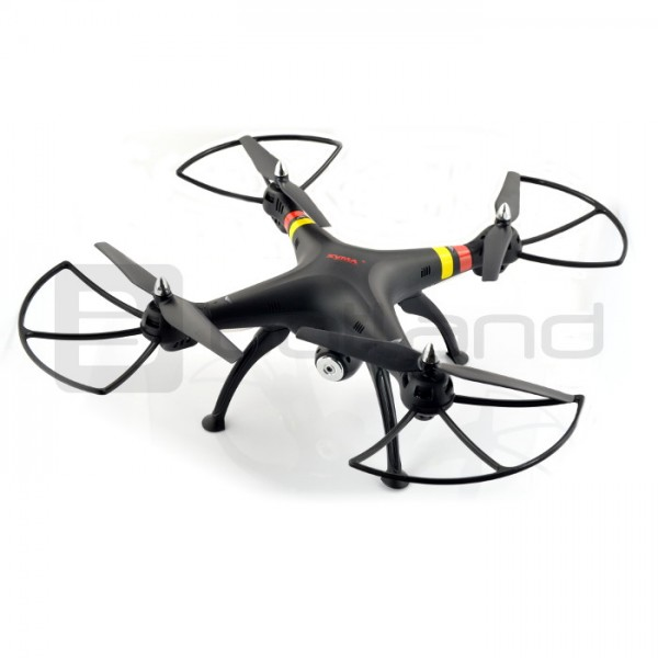 Na start do nagrywania - dron quadrocopter Syma X8W 2.4 GHz z kamerą FPV - 49 cm
