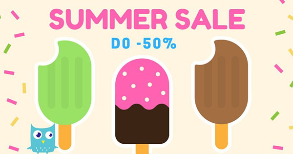 Summer Sale do 50% w Little Sophie